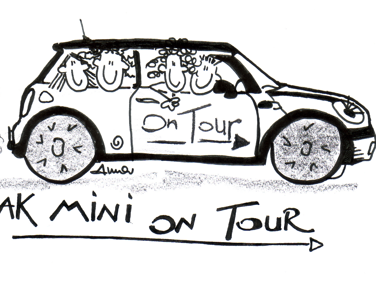Start: AK Mini on tour - sounds good