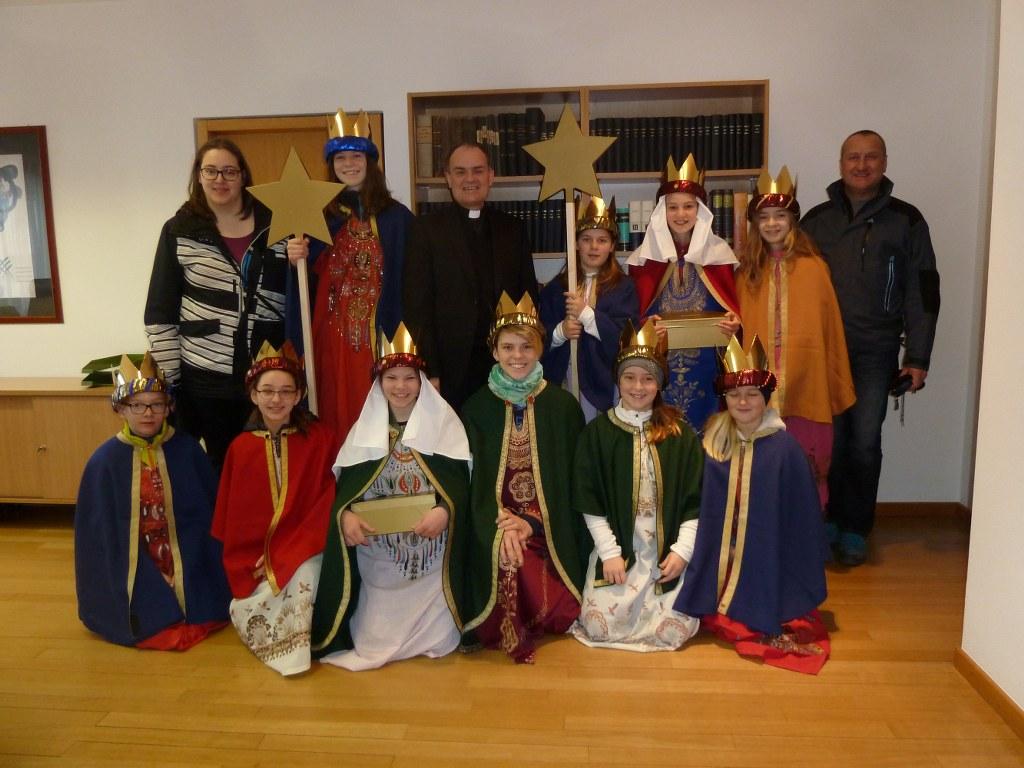 Sternsinger bei Bischof Ivo Muser