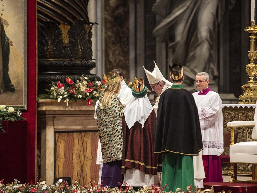 Neujahrsmesse mit Papst Franziskus