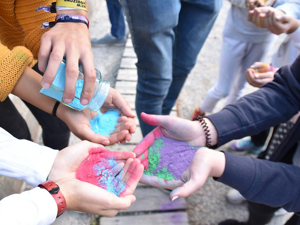 Aktion zum Jahresthema: Lieblingsfarbe KUNTERBUNT